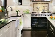 2-Kitchens - White Cabinetry   / Second Board of Kitchens with Beautiful White Cabinetry / by Cheryl Linford - Interior Designer
