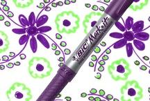 Playful Purple / by BIC Mark-It