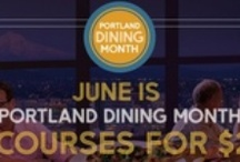 Portland Dining Month 2013 Participating Restaurants / by Downtown PDX