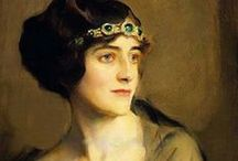 ~ PORTRAITS ~ / Various styles and various artists - see also Keeping Up With the Jones Board / by Florence Langley