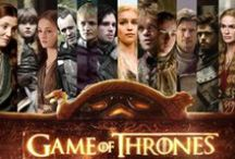 ♛Game Of Thrones♛ / The series, set on the fictional continents of Westeros and Essos at the end of a decade-long summer, interweaves several plot lines. The first follows the members of several noble houses in a civil war for the Iron Throne of the Seven Kingdoms; the second covers the rising threat of the impending winter and the mythical creatures of the North; the third chronicles the attempts of the exiled last scion of the realm's deposed dynasty to reclaim the throne. / by Lisa Warren *SCORPIOCHICK*