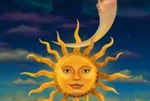 The Moon the Stars and the Sun / by Delfina Gomez