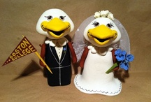 Boston College Inspired Weddings / Giving pin-spiration for all those Eagles getting married. Features bouquet ideas, cake ideas and photos of BC couples.  / by Boston College Alumni