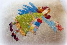 cross stitch patterns / by Hokata art