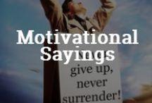 Motivational Sayings / by Snagajob