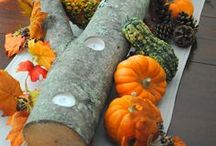 Thanksgiving Decorations / Thanksgiving decorating ideas from tablescapes to mantles... / by BonBon Rose Girls