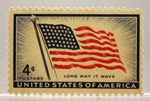Postage stamps from U.S.A. / by Betty Soto-Soria