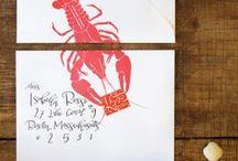 // POSTAGE & MAIL / by Paperwheel | letterpress & design
