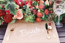 // WEDDING INSPIRATION  / by Paperwheel | letterpress & design