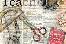 Teaching Art / by Bronwyn Fleming