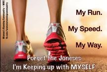 #GoRun Motivation / Phrases I've shared or found motivating for running. / by Summer Sanders
