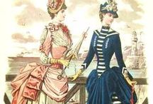 19th Century Apparel / Including Steampunk inspiration / by Gina Lovin