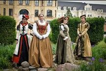 16th century & before, Ren Faire and SCA / What people wore in the times before 1599, as well as inspiration for Renaissance Faires. / by Gina Lovin