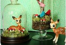 Collecting...kitsch figurines / Cartoony cute, kitsch, vintage, 1950's & 60's ceramic creatures. / by Frances Fib