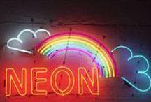 Neon Rainbow / by Barbara Washburn