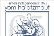 Israeli 65th Birthday and Yom Ha'Atzmaut eCards / This year 5773/2013 Israel proudly celebrates her 65th Birthday or Anniversary ~ Yom Ha'Atzmaut aka Israeli Independence Day.  5773 is the Hebrew Year for the Calendar Year 2013.  Need help, contact Roz Fruchtman at http://www.SayItWithEcards.com. / by Say It With eCards Judaic Greetings - Jewish