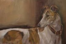 Greyhounds, Whippets & Iggies / Wonderful sighthounds / by Kay Zeman