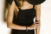 MODA ~ Women in Black / by Letizia Reale Paradiso