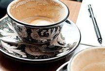 Caffè, Cappuccino e Dolcetto... / by L'Eterna Sognatrice