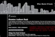 Houston Authors Bash / Houston Authors Bash, Feb 22, 2014 from 9am - 6pm @ Harmony Science Academy of West Houston 22400 Grand Corner Dr., Katy, TX 77494 Free parking. Free admission. Food on site. Books! / by Scot C. Morgan