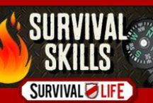 Survival Skills | Survival Life / Survival skills and How to's and survival prepping techniques you should know before the SHTF. Prepping survival food, self defense, best survival weapons, hunting, fishing, emergency preparedness skills you need to learn. Survival skills for kids and how to protect yourself and you family. For the best survival skills, DIY survival prep and survival weapons info, follow Survival Life on Pinterest, Facebook and on our blog at survivallife.com / by Survival Life | Survival Prepping