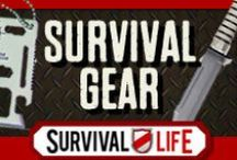 Survival Gear / Survival gear and cool DIY survival gear projects. Survival Gear, Survival Knives, Bushcraft, Bug Out Bag, Emergency Kits, Survival Kit, Disaster Preparedness, Survival Food, Survival Kits, Camping, Tactical Knives. Top finds for prepping gear, survival gear reviews and how to's for homemade survival gear tutorials with step by step instructions.  / by Survival Life | Survival Prepping