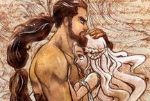 Daenerys Targaryen / by Clara Vasconcelos