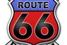 Route 66 / by Christopher Wesselingh