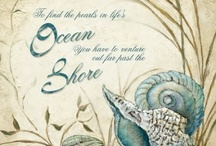 Ocean Quotes - Sea Quotes / Ocean quotes, sea quotes and sayings on prints, posters, and signs. On decor accessories, wearables, and more. May the sea set you free! / by Art Sea Beach