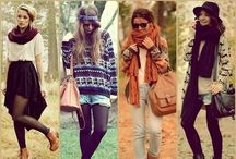 Fall/Winter Looks<3 / #NeutralColors #Sweather #Pants #Scarfs #Boots  / by Mille
