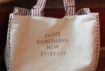 s t i t c h ~ tote / This site has both free and purchased patterns onboard so please check into the details of anything that interests you to check if not stated as free / by Arlene Jackson