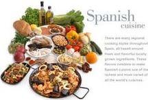 Typical Spanish Dishes/Platos típicos de España. / Si España es tan variada en su climatología, por fuerza, deberá serla su gastronomía. La dieta mediterránea, Patrimonio de la Humanidad, tiene en España a uno de sus principales exponentes. Y muchos turistas, además de por su sol, su cultura, sus ciudades, señalan a nuestro país por su gastronomía tan variada. La diferencia regional hace que platos con el mismo nombre, un cocido, por ejempo, sea diferente en Andalucía, Madrid o Galicia. Y lo mismo de las migas, las gachas, la paella, el caldo... / by Enrique Moraga