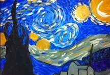 Art - Inspired by Starry Night / by Merry Cowart