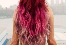 Hair Color, Hairstyles, and Hair cuts. / by Rebekah Salveggio