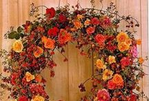 wreath / flower arrangment / by coro