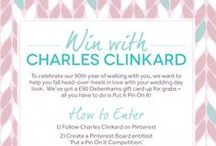 Put A Pin On It Competition / Want to #win vouchers to put towards your dream wedding, or to help find that perfect wedding present for a special couple? #PutAPinOnIt to enter our #competition! http://bit.ly/PinOnIt / by Charles Clinkard