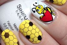 bee nail art tutorials & video gallery by nded / bee nail art tutorials & video gallery by nded  / by nded - nail art designs