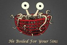 The Church of the Flying Spaghetti Monster Australia / The Church of the FSM dogma...is the rejection of dogma. May his Noodleness touch you all / by SuperJunoo