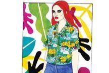 Fashion illustration / Fashion, food and beauty illustrations from Stella magazine's favourite contributors. telegraph.co.uk/stella / by Stella Magazine
