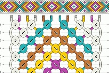 Friendship Bracelet Patterns / by BraceletBook.com