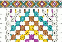 Friendship Bracelet Patterns / by BraceletBook.com