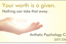 Our message to you! / We want to share our skills and our love with you. / by Anthetic Psychology