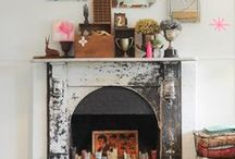 MANtle LOVE / Beautiful mantles & mantle decor / by Tina Berry