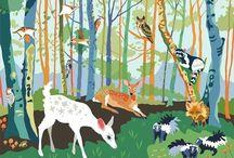 In the forest / by Ideasfromtheforest Saartje Janssen