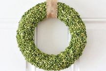 Simple Wreaths / Easy and elegant ideas for wreaths to make.  / by Shannon Madigan (Madigan Made)