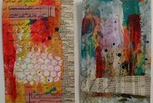 MIXED MEDIA and CREATIVE and PAPER IDEAS and SHOPS and TUTORIALS / by Moira Hickman