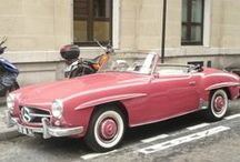 Vintage Wheels. / American, Italian and British cars from the 50's and 60's are my favorite! / by RetroEssence