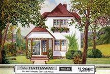 Vintage Home Plans / Vintage home plans and vintage color inspiration. / by Scarlet Rose