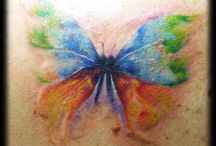 Tiny Tatts Tattoos / Little skin inkings / by Terry Brill