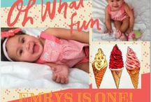 Emrys's 1st Birthday / Ice Cream Party / by London Ré